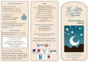 Programme Novembre 2015